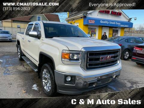 2014 GMC Sierra 1500 for sale at C & M Auto Sales in Detroit MI