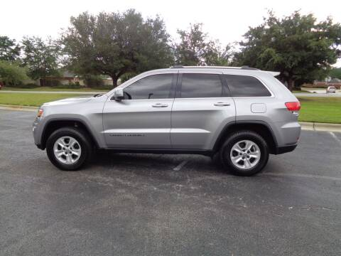 2017 Jeep Grand Cherokee for sale at BALKCUM AUTO INC in Wilmington NC