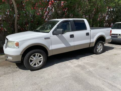 2004 Ford F-150 for sale at Zak Motor Group in Deerfield Beach FL