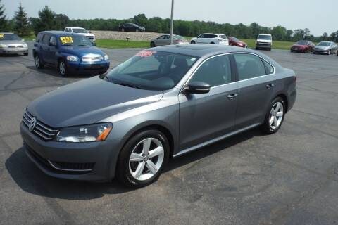 2013 Volkswagen Passat for sale at Bryan Auto Depot in Bryan OH