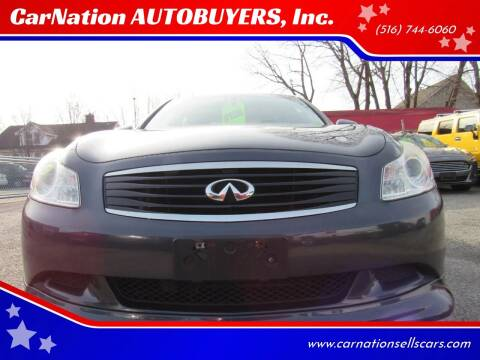 2009 Infiniti G37 Sedan for sale at CarNation AUTOBUYERS, Inc. in Rockville Centre NY