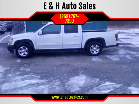 2010 Chevrolet Colorado for sale at E & H Auto Sales in South Haven MI