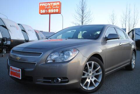 2011 Chevrolet Malibu for sale at Frontier Auto & RV Sales in Anchorage AK