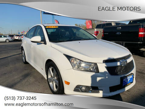 2013 Chevrolet Cruze for sale at Eagle Motors in Hamilton OH