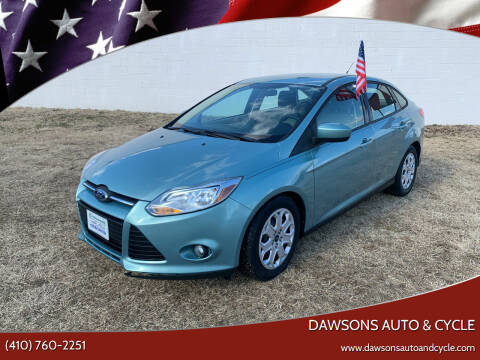 2012 Ford Focus for sale at Dawsons Auto & Cycle in Glen Burnie MD