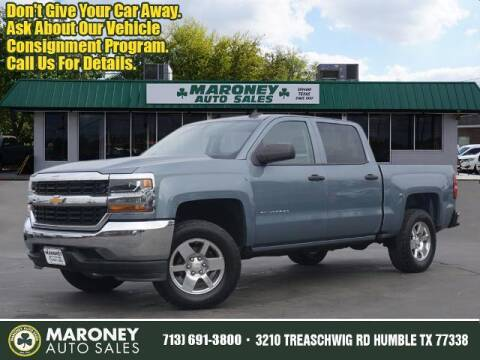 2016 Chevrolet Silverado 1500 for sale at Maroney Auto Sales in Humble TX