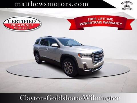 2020 GMC Acadia for sale at Auto Finance of Raleigh in Raleigh NC