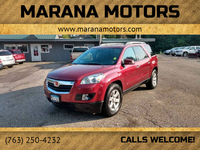 2010 Saturn Outlook for sale at Marana Motors in Princeton MN