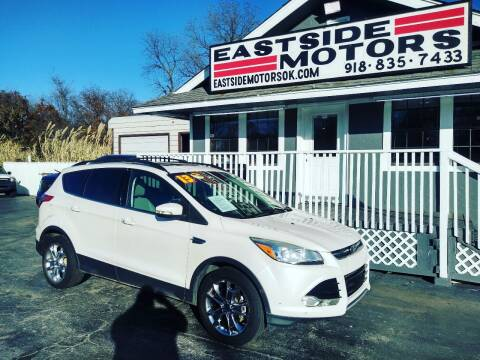 2013 Ford Escape for sale at EASTSIDE MOTORS in Tulsa OK