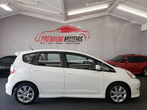 2009 Honda Fit for sale at Premium Motors in Villa Park IL
