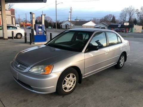 2002 Honda Civic for sale at JE Auto Sales LLC in Indianapolis IN