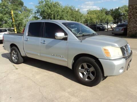 2005 Nissan Titan for sale at SPORT CITY MOTORS in Dallas TX