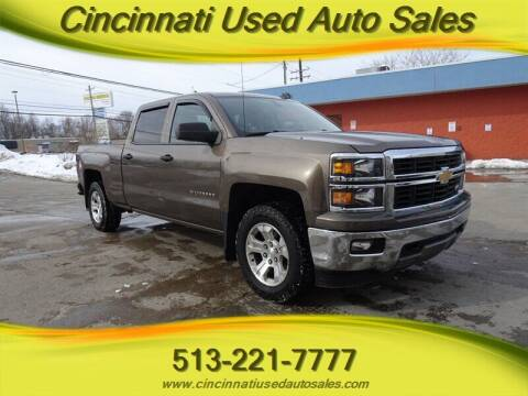2014 Chevrolet Silverado 1500 for sale at Cincinnati Used Auto Sales in Cincinnati OH