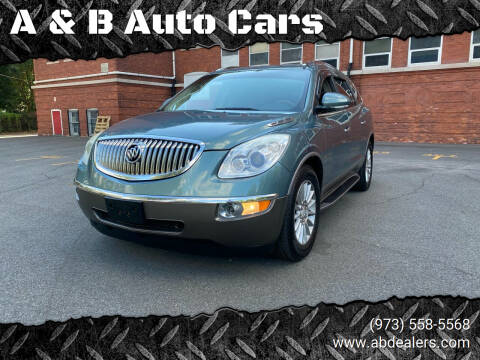 2010 Buick Enclave for sale at A & B Auto Cars in Newark NJ