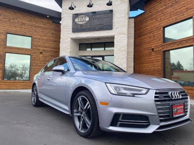 2018 Audi A4 for sale at Hamilton Motors in Lehi UT