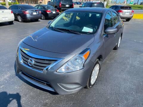 2016 Nissan Versa for sale at Rucker's Auto Sales Inc. in Nashville TN