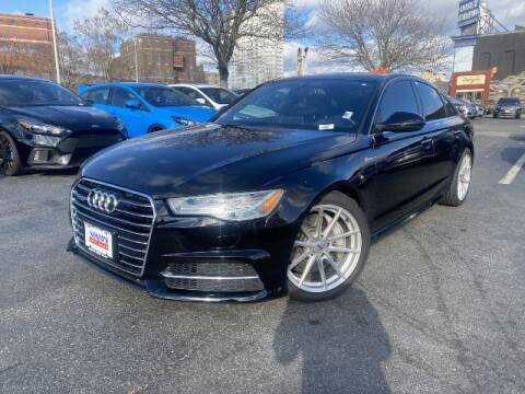 2016 Audi A6 for sale at Sonias Auto Sales in Worcester MA