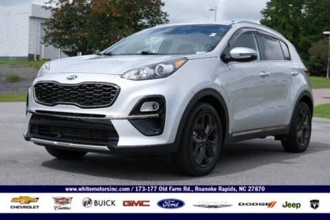 2020 Kia Sportage for sale at WHITE MOTORS INC in Roanoke Rapids NC