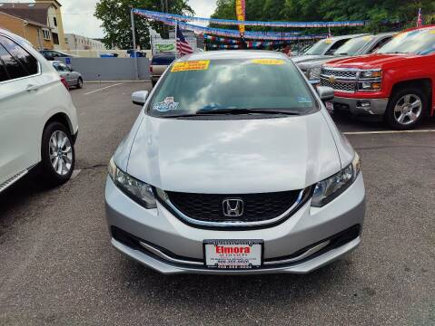 2014 Honda Civic for sale at Elmora Auto Sales in Elizabeth NJ