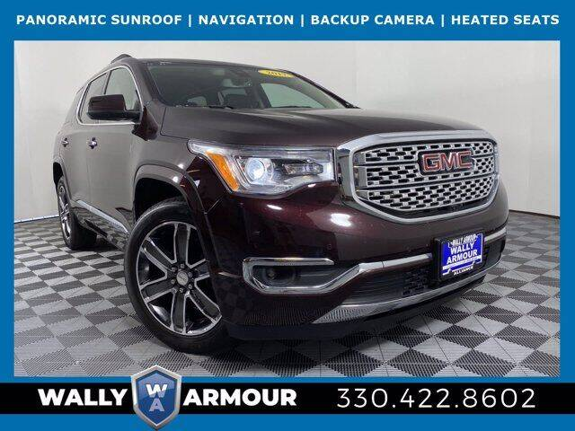 2017 GMC Acadia for sale at Wally Armour Chrysler Dodge Jeep Ram in Alliance OH
