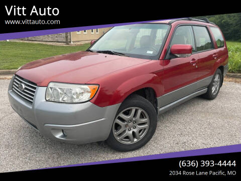 2007 Subaru Forester for sale at Vitt Auto in Pacific MO