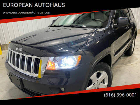 2013 Jeep Grand Cherokee for sale at EUROPEAN AUTOHAUS in Holland MI