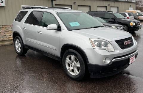 2009 GMC Acadia for sale at QS Auto Sales in Sioux Falls SD