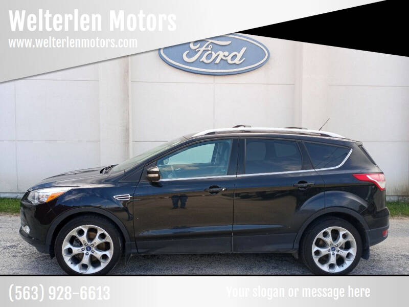 2013 Ford Escape for sale at Welterlen Motors in Edgewood IA