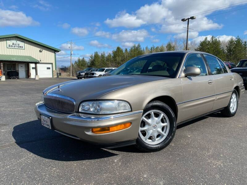 2002 Buick Park Avenue for sale at Lakes Area Auto Solutions in Baxter MN