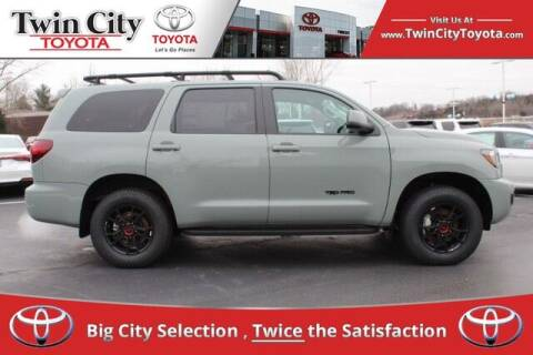 2021 Toyota Sequoia for sale at Twin City Toyota in Herculaneum MO