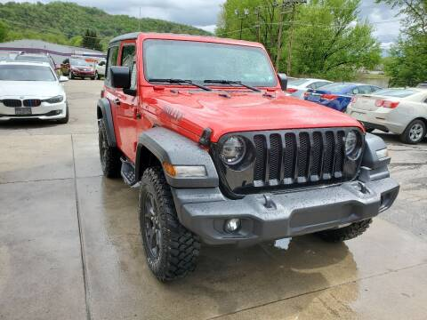 2020 Jeep Wrangler for sale at A - K Motors Inc. in Vandergrift PA