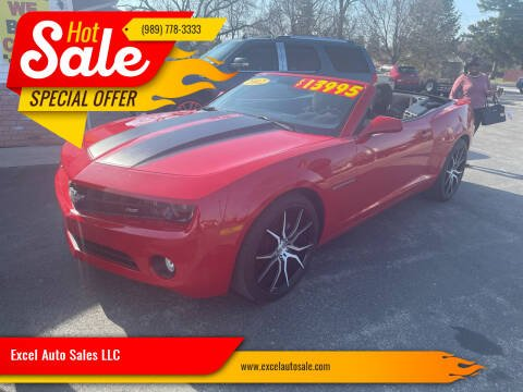 2012 Chevrolet Camaro for sale at Excel Auto Sales LLC in Kawkawlin MI