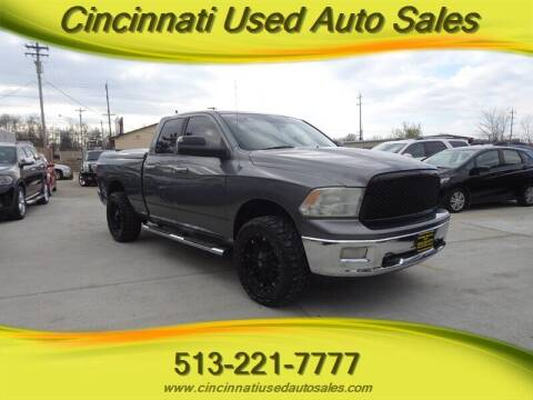 2010 Dodge Ram Pickup 1500 for sale at Cincinnati Used Auto Sales in Cincinnati OH