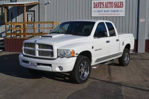 2005 Dodge Ram Pickup 1500 for sale at Dave's Auto Sales in Winthrop MN