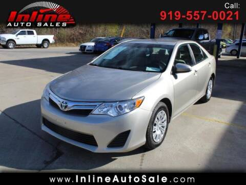2014 Toyota Camry for sale at Inline Auto Sales in Fuquay Varina NC