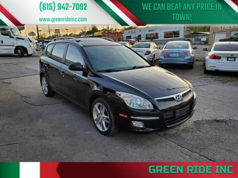 2012 Hyundai Elantra Touring for sale at Green Ride Inc in Nashville TN
