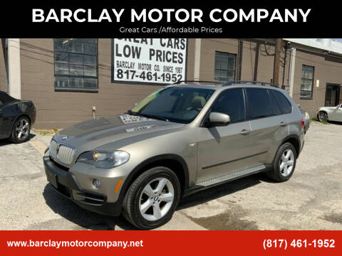 2007 BMW X5 for sale at BARCLAY MOTOR COMPANY in Arlington TX