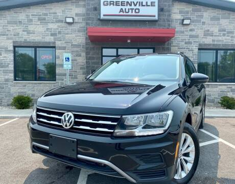 2018 Volkswagen Tiguan for sale at GREENVILLE AUTO in Greenville WI