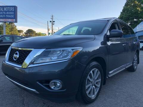 2014 Nissan Pathfinder for sale at Capital Motors in Raleigh NC
