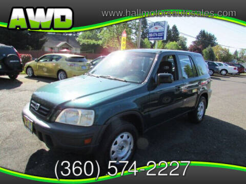 1999 Honda CR-V for sale at Hall Motors LLC in Vancouver WA
