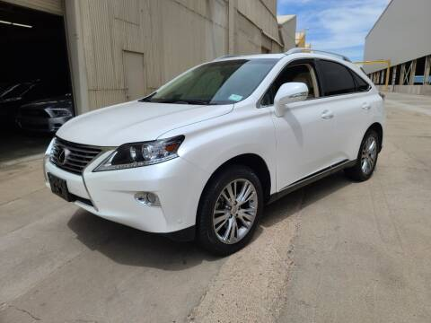 2013 Lexus RX 350 for sale at NEW UNION FLEET SERVICES LLC in Goodyear AZ