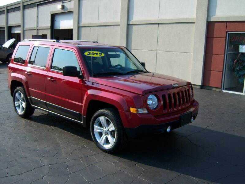 2015 Jeep Patriot for sale at Blatners Auto Inc in North Tonawanda NY