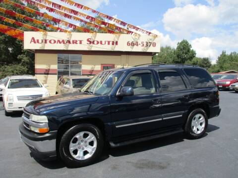 2005 Chevrolet Tahoe for sale at Automart South in Alabaster AL