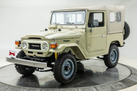 1978 Toyota Land Cruiser for sale at Duffy's Classic Cars in Cedar Rapids IA