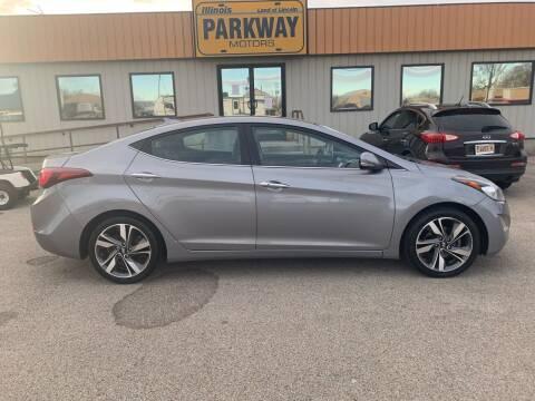 2014 Hyundai Elantra for sale at Parkway Motors in Springfield IL