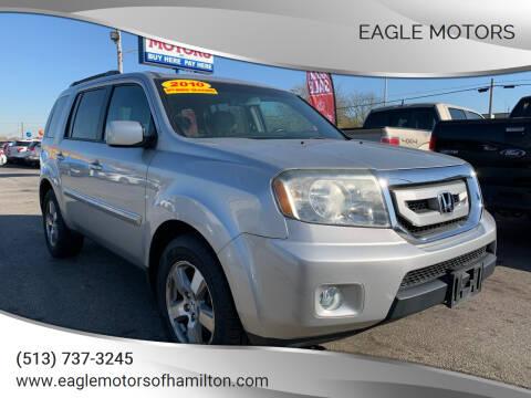 2010 Honda Pilot for sale at Eagle Motors in Hamilton OH