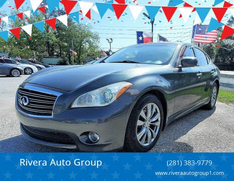 2012 Infiniti M37 for sale at Rivera Auto Group in Spring TX