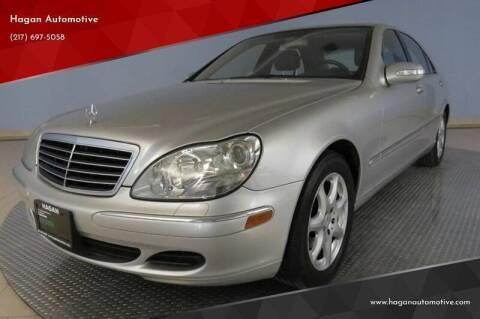 2006 Mercedes-Benz S-Class for sale at Hagan Automotive in Chatham IL