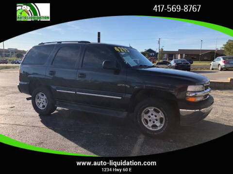 2005 Chevrolet Tahoe for sale at Auto Liquidation in Republic MO