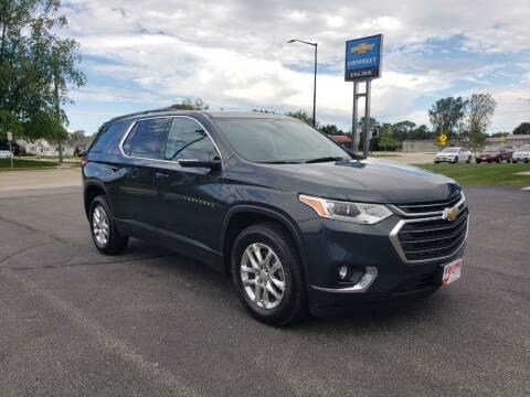 2019 Chevrolet Traverse for sale at Krajnik Chevrolet inc in Two Rivers WI